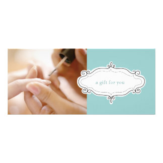 Nail Salon or Nail Studio Gift Certificates Rack Card Template