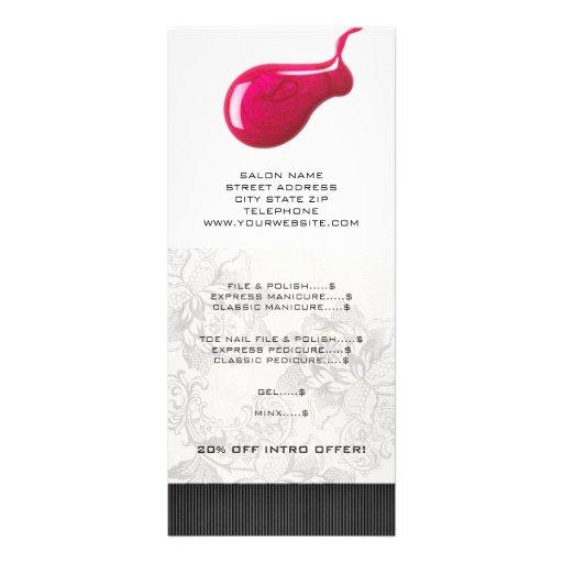 Nail design pricing lists joy studio design gallery best design for Nail salon price list template