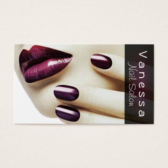 Nail Salon, Spa, Beauty, Cosmetology Business Card