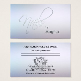 Mondaymotivation business cards with space for appointments design nail studio appointment business card colourmoves Images
