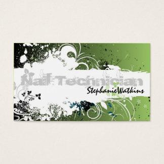 Nail Tech Business Cards & Templates | Zazzle