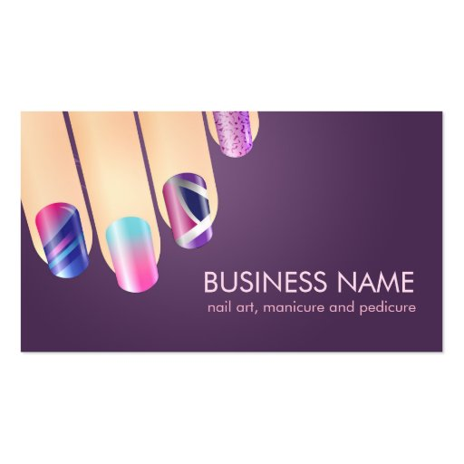 Nail business cards templates 28 images 1938 best for Nail business cards templates