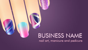 Nail tech business card templates best business 2017 outstanding nail art business cards gift card ideas colourmoves