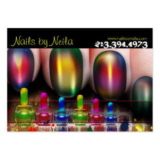 Nail Tech Nail Artist Nail Salon Business Card Chubby Business Cards