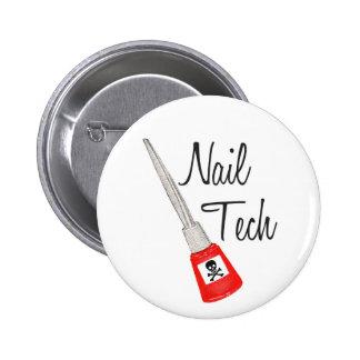 Nail Tech Poison Polish Button