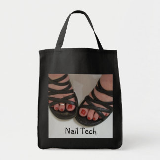 Nail Tech pretty toes Tote bag