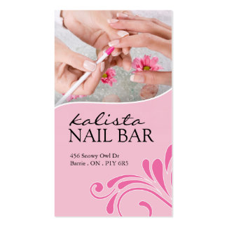NAIL TECHNICIAN AND SAP BUSINESS CARD