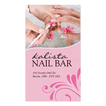 NAIL TECHNICIAN AND SAP BUSINESS CARD profilecard