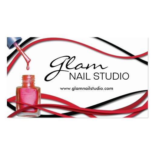 Nail Technician Business Card