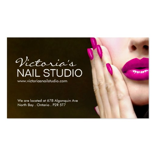 2000 nail technician business cards and nail technician for Nail business cards templates