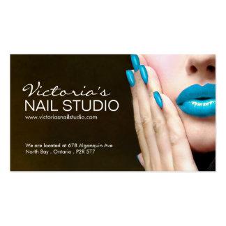 Nail Technician ~ Business Card Template