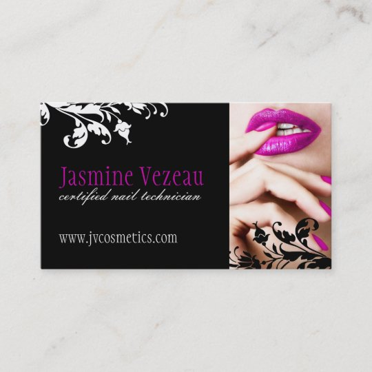 nail technician business cards - Nail Tech Business Cards