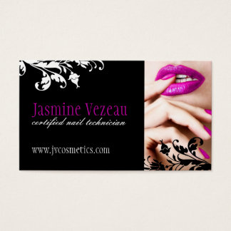 Nail tech business cards tiredriveeasy nail tech business cards colourmoves Images