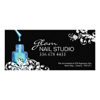 NAIL TECHNICIAN GIFT CERTIFICATE FULL COLOR RACK CARD