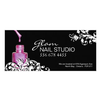 NAIL TECHNICIAN GIFT CERTIFICATE RACK CARDS
