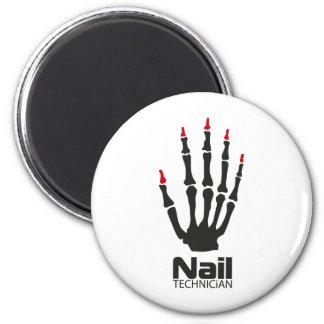 Nail technician fridge magnets