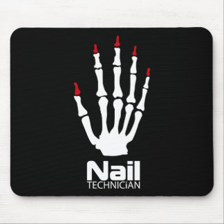 Nail technician mouse pad