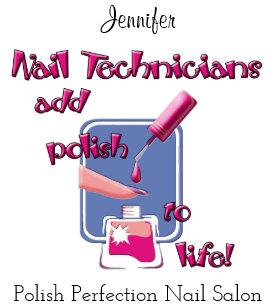 Nail Technicians Apron Custom