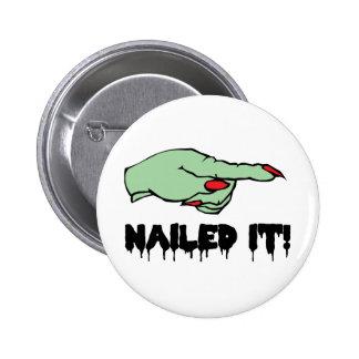 Nailed It Pin