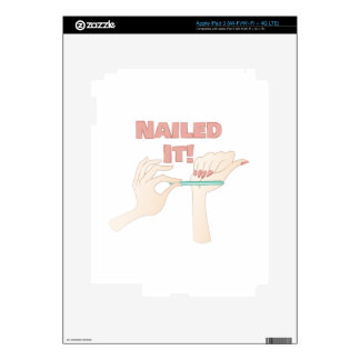 Nailed It Decals For iPad 3