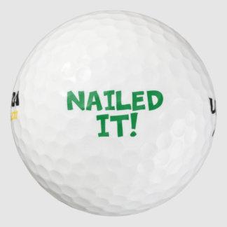 Nailed It Golf Balls