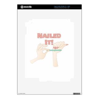 Nailed It iPad 2 Decal