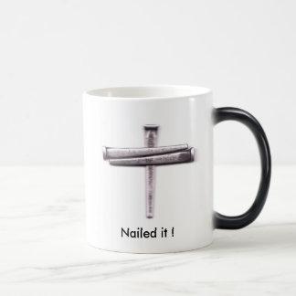 Nailed it ! mugs