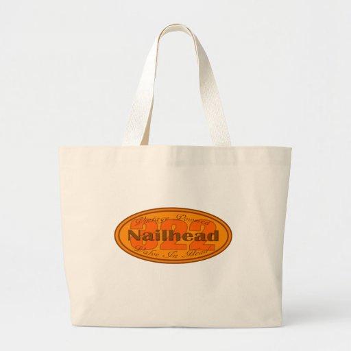 Nailhead 322 del dólar bolsa tela grande
