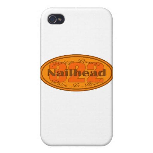 Nailhead 322 del dólar iPhone 4/4S carcasas