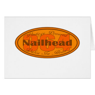 Nailhead 364 de Buick Tarjeta De Felicitación