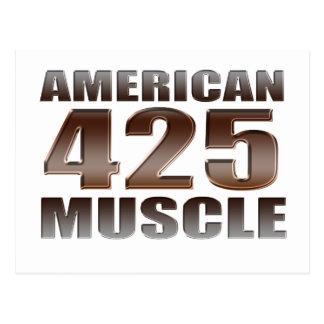 nailhead americano del músculo 425 tarjetas postales