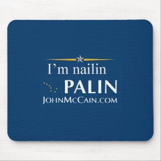 Nailin Palin Mouse Pad