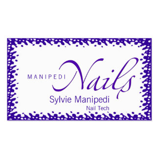 Nails Business Cards