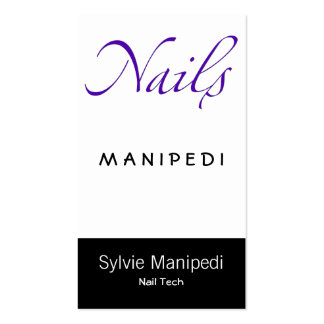 Nails Business Card Templates