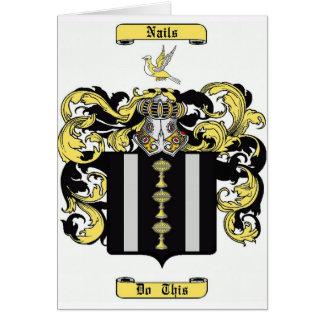 Nails Card
