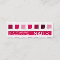 NAILS customer appreciation (mod squares) Loyalty Card