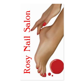 Nails Salon, Beauty, Spa Business Card