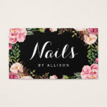 "Nails Salon Nail Technician Romantic Floral Wrap Business Card<br><div class=""desc"">Make a great impression with this stylish &quot;Nails Salon Nail Technician Romantic Floral Wrap&quot; Business Card template. Create yours today! (1) For further customization, please click the &quot;Customize&quot; button and use our design tool to modify this template. All text style, colors, sizes can be modified to fit your needs. (2)...</div>"