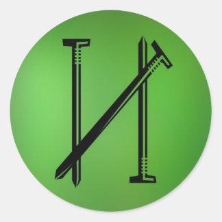 Nails sticker