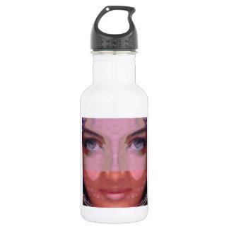 NAINA : DOE Eye n Perfect LIPS Girl Graphics Stainless Steel Water Bottle
