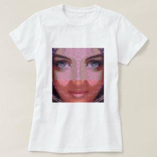 NAINA : DOE Eye n Perfect LIPS Girl Graphics T-Shirt