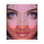 NAINA: Gráficos perfectos del chica de los LABIOS  Membretes Personalizados