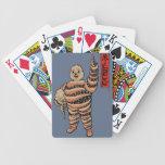 Naipe del americano de Michelin del pulpo Baraja Cartas De Poker