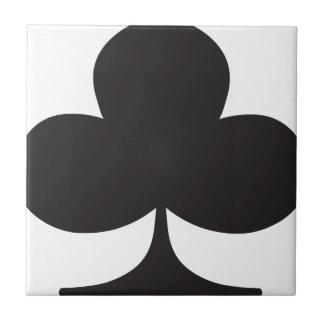 Naipe del juego del club del póker azulejos