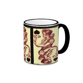 Naipe del vintage tazas de café