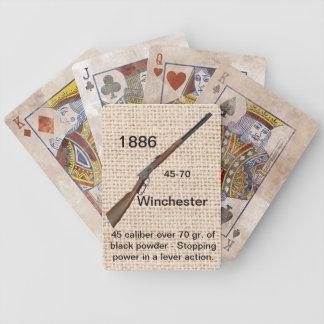Naipes 1886 de Winchester Baraja Cartas De Poker