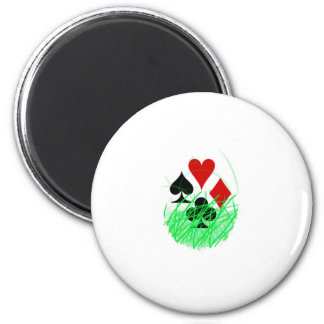 naipes 2 inch round magnet