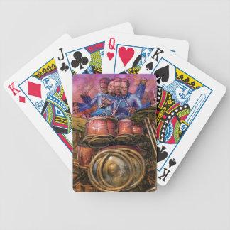 Naipes a solas del tambor barajas de cartas