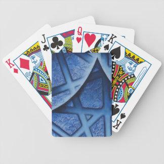 Naipes abstractos de la pintura cartas de juego