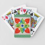Naipes acolchados baraja cartas de poker
